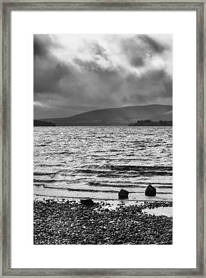 Framed Print featuring the photograph The Shores Of Loch Lubnaig by Christi Kraft