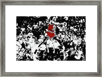 The Shot Framed Print by Brian Reaves