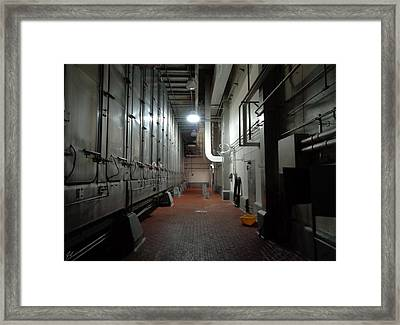 The Show Is Over Pt. II Framed Print