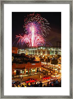 The Showstopper Framed Print by Kevin Munro