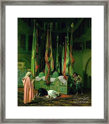 The Shrine Of Imam Hussein Framed Print