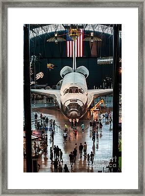 The Shuttle Framed Print by Jim Moore