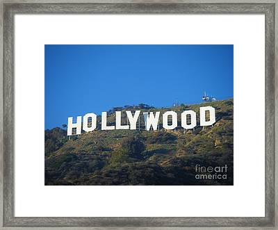 The Sign Framed Print