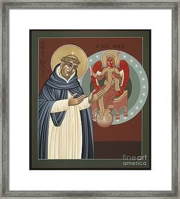 The Silence Of St Thomas Aquinas 097 Framed Print