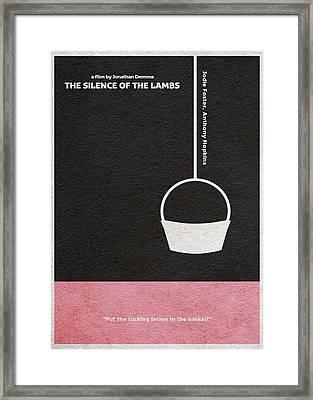 The Silence Of The Lambs Framed Print by Ayse Deniz