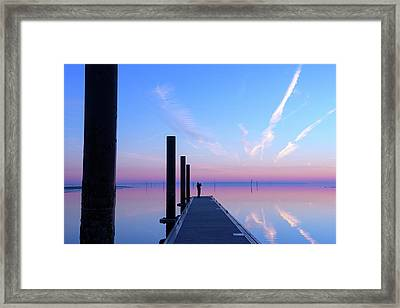 The Silent Man Framed Print by Thierry Bouriat