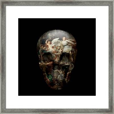 The Silent Mirror Of Time Framed Print by Mon Z