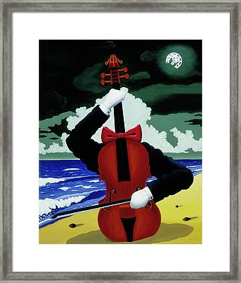 Framed Print featuring the painting The Silent Soloist by Paxton Mobley