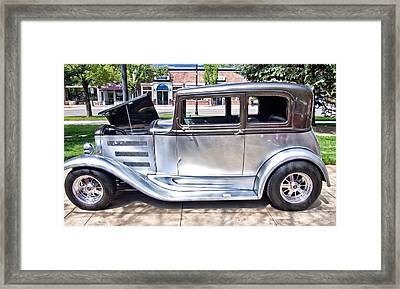 The Silver Classic Automobile Framed Print