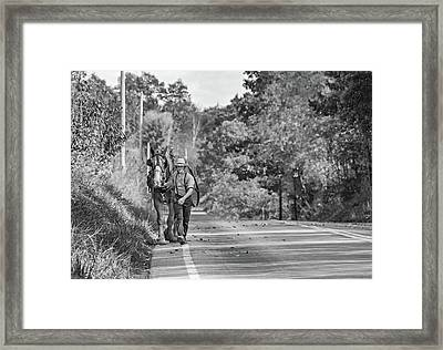 The Simple Life 2 Bw Framed Print