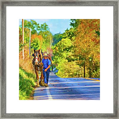 The Simple Life 2 - Paint Framed Print