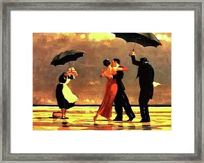 The Singing Butler Framed Print
