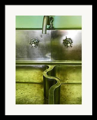 Sink Framed Prints
