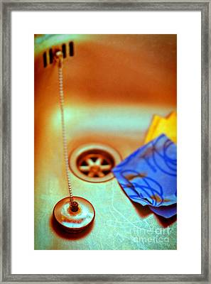 The Sink Framed Print by Silvia Ganora