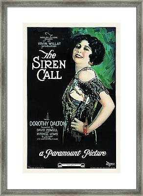 The Siren Call Framed Print by Paramount