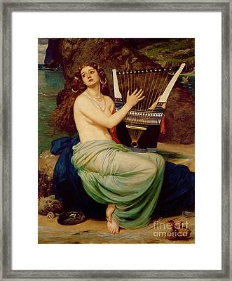 The Siren Framed Print