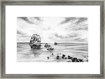 The Siren's Are Coming Framed Print