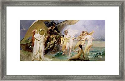 The Sirens Framed Print by Edouard Veith