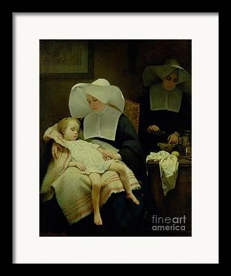 Child Care Framed Prints