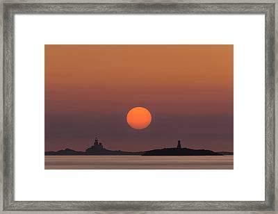 The Skerries Lighthouse  Framed Print