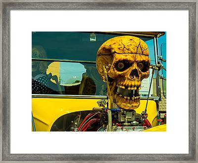 The Skull Framed Print