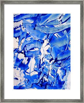 The Sky Is Falling Framed Print by Bruce Combs - REACH BEYOND