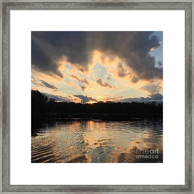 The Sky Is The Limit Framed Print by Jason Nicholas