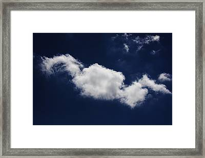 Framed Print featuring the photograph The Sky Is The Limit by Michael Albright