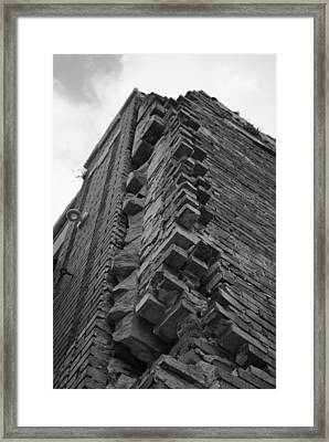 The Sky The Limit When You Find A Corner. Framed Print by Jonathan Brown