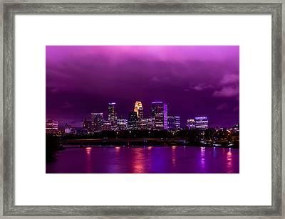 The Sky Was So Purple...  Framed Print by Mark Goodman