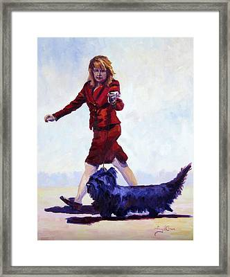 The Skye's The Limit Framed Print by Terry  Chacon