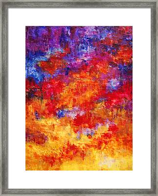 The Sky's The Limit Framed Print by Deborah Gall