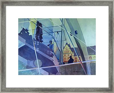 The Sky's The Limit Framed Print by Kris Parins