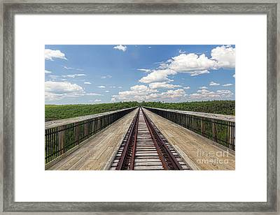 The Skywalk Framed Print