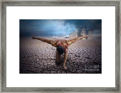 The Slave  Framed Print by Mark Ashkenazi