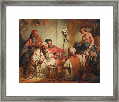 The Slave Market, 1853 Framed Print