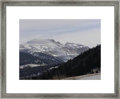 The Sleeping Indian Framed Print