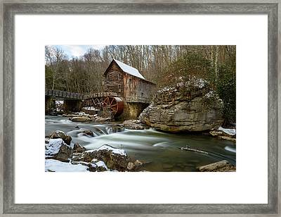 The Splendor Of West Virginia Framed Print