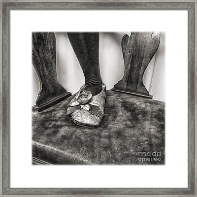 The Slipper  Framed Print by Steven Digman