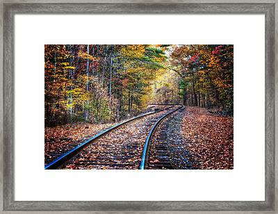 The Slow Lane Framed Print