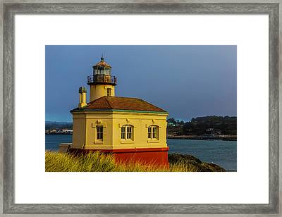 The Small Coquille River Lighthouse Framed Print