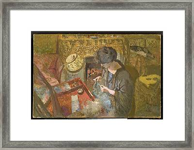 The Small Drawing Room Framed Print by Celestial Images