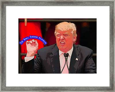 The Small Fingered Vulgarian Framed Print by Joe Paradis
