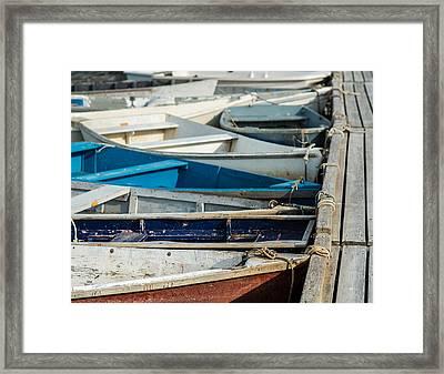 The Small Fleet Framed Print