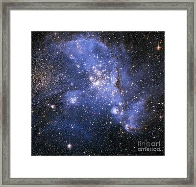 The Small Magellanic Cloud Framed Print by Stocktrek Images