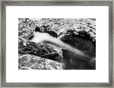 The Small Waterfall Framed Print
