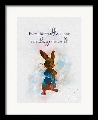 Beatrix Potter Mixed Media Framed Prints