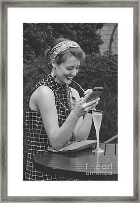 The Smile Framed Print