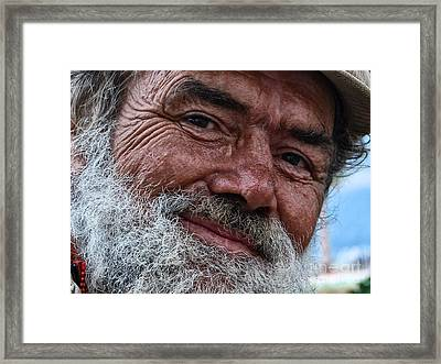 The Smile Of Life Framed Print