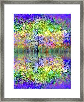 The Smiling Trees Framed Print